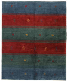 Gabbeh Persia Rug 158X193 Authentic  Modern Handknotted Dark Blue/Dark Red (Wool, Persia/Iran)