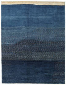 Gabbeh Persia Rug 170X215 Authentic  Modern Handknotted Dark Blue/Blue (Wool, Persia/Iran)