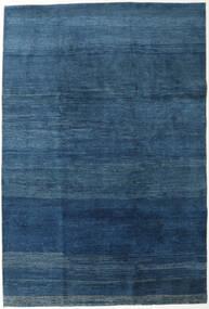 Gabbeh Persan Tapis 202X300 Moderne Fait Main Bleu Foncé/Bleu (Laine, Perse/Iran)