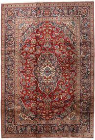Keshan Rug 203X292 Authentic  Oriental Handknotted Dark Brown/Dark Red (Wool, Persia/Iran)