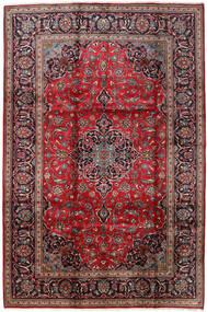 Keshan Matto 198X298 Itämainen Käsinsolmittu Tummanruskea/Tummanpunainen (Villa, Persia/Iran)
