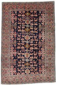 Ardebil Matta 172X265 Äkta Orientalisk Handknuten Mörklila/Mörkröd (Ull, Persien/Iran)