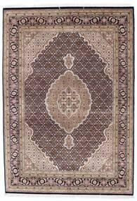Tebriz Royal Dywan 171X242 Orientalny Tkany Ręcznie Jasnobrązowy/Jasnoszary ( Indie)
