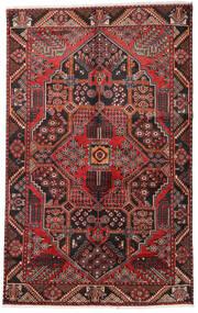 ハマダン 絨毯 152X243 オリエンタル 手織り 深紅色の/濃い茶色 (ウール, ペルシャ/イラン)