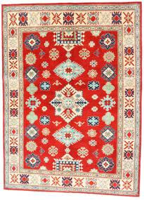 Kazak Dywan 150X204 Orientalny Tkany Ręcznie Czerwony/Ciemnobeżowy (Wełna, Pakistan)