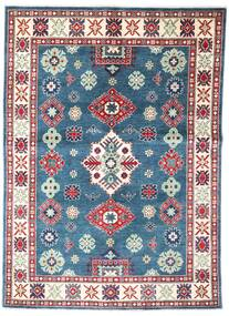 Kazak Rug 149X209 Authentic  Oriental Handknotted Blue/Dark Grey (Wool, Pakistan)