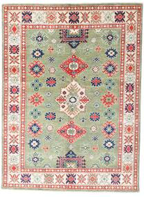 Kazak Rug 147X199 Authentic  Oriental Handknotted Beige/Dark Beige (Wool, Pakistan)