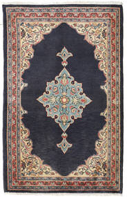 Hamadan Rug 76X120 Authentic  Oriental Handknotted Dark Grey/Light Grey (Wool, Persia/Iran)