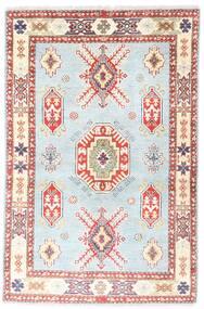 Kazak Szőnyeg 96X150 Keleti Csomózású Bézs/Világos Rózsaszín (Gyapjú, Pakisztán )