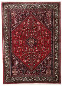 Abadeh Tapis 149X208 D'orient Fait Main Rouge Foncé/Marron Foncé (Laine, Perse/Iran)