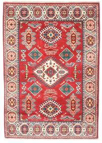 Kazak Dywan 86X122 Orientalny Tkany Ręcznie Brązowy/Jasnoróżowy (Wełna, Pakistan)
