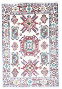 カザック 絨毯 81X120 オリエンタル 手織り ベージュ/薄紫色 (ウール, パキスタン)