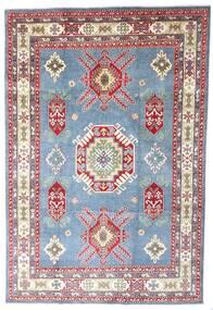 Kazak Alfombra 202X298 Oriental Hecha A Mano Azul Claro/Violeta Claro (Lana, Pakistán)