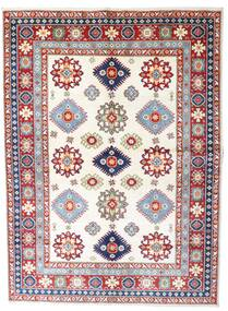 Kazak Rug 179X242 Authentic  Oriental Handknotted Light Grey/Beige (Wool, Pakistan)