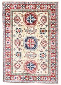 Kazak Rug 121X176 Authentic  Oriental Handknotted Light Pink/Light Grey (Wool, Pakistan)