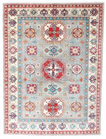 Kazak Rug 150X201 Authentic Oriental Handknotted Light Grey/Beige (Wool, Pakistan)