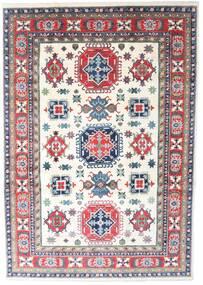 Kazak Alfombra 206X297 Oriental Hecha A Mano Beige/Gris Claro (Lana, Pakistán)
