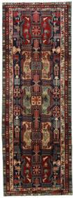 Ardebil Matta 115X320 Äkta Orientalisk Handknuten Hallmatta Mörkröd/Mörkbrun (Ull, Persien/Iran)