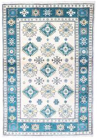 Kazak Rug 97X139 Authentic  Oriental Handknotted Beige/Blue (Wool, Pakistan)