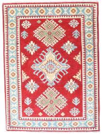Kazak Tapis 85X114 D'orient Fait Main Rouille/Rouge/Beige (Laine, Pakistan)