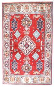 Kazak Tapis 86X143 D'orient Fait Main Gris Clair/Beige (Laine, Pakistan)