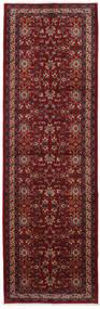 Mashad Rug 119X375 Authentic  Oriental Handknotted Hallway Runner  Dark Red/Dark Brown (Wool, Persia/Iran)