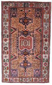 Hamadan Sag 130X222 Autentični  Orijentalni Ručno Uzlan Tamnosmeđa/Tamnocrvena (Vuna, Perzija/Iran)