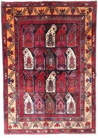 Zanjan Rug 145X210 Authentic  Oriental Handknotted Dark Red/Dark Brown (Wool, Persia/Iran)