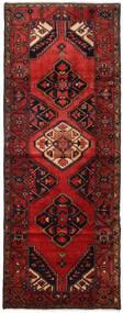 Hamadan Tapis 107X284 D'orient Fait Main Tapis Couloir Rouge Foncé/Marron Foncé (Laine, Perse/Iran)