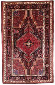 Toiserkan Rug 140X222 Authentic  Oriental Handknotted Dark Red/Rust Red (Wool, Persia/Iran)