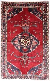 Nahavand Rug 135X220 Authentic  Oriental Handknotted Dark Red/Dark Purple (Wool, Persia/Iran)