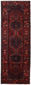 Hamadan Teppe 112X320 Ekte Orientalsk Håndknyttet Teppeløpere Mørk Brun/Mørk Rød (Ull, Persia/Iran)