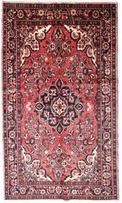 Lillian Dywan 158X263 Orientalny Tkany Ręcznie Ciemnobrązowy/Jasnoróżowy (Wełna, Persja/Iran)