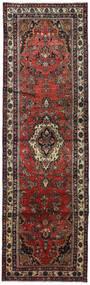 Hamadan Teppe 105X345 Ekte Orientalsk Håndknyttet Teppeløpere Mørk Rød/Svart (Ull, Persia/Iran)