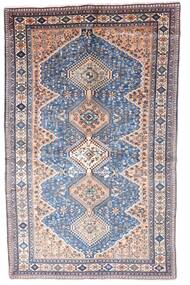 Yalameh Matta 153X248 Äkta Orientalisk Handknuten Ljusgrå/Ljusrosa (Ull, Persien/Iran)