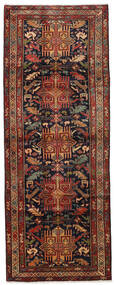 Ardebil Rug 114X305 Authentic Oriental Handknotted Hallway Runner Dark Red/Dark Brown (Wool, Persia/Iran)