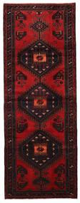 Hamadán Szőnyeg 106X286 Keleti Csomózású Sötétbarna/Sötétpiros (Gyapjú, Perzsia/Irán)