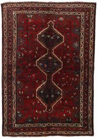 Kaszkaj Dywan 155X225 Orientalny Tkany Ręcznie Ciemnoczerwony (Wełna, Persja/Iran)