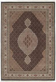 Tabriz Royal Tappeto 173X243 Orientale Fatto A Mano Marrone Scuro/Grigio Chiaro/Marrone ( India)