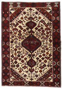 Lori Rug 145X209 Authentic  Oriental Handknotted Dark Red/Beige (Wool, Persia/Iran)