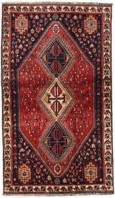 Qashqai Rug 115X200 Authentic  Oriental Handknotted Dark Red (Wool, Persia/Iran)