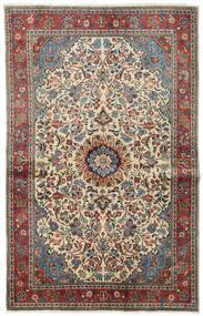 Sarouk Rug 128X205 Authentic  Oriental Handknotted Dark Grey/Dark Brown (Wool, Persia/Iran)