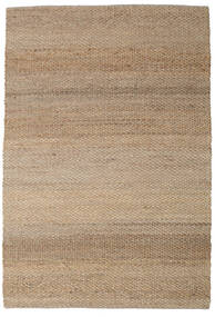 Siri Jute - Natural/Clair Tapis 250X350 Moderne Tissé À La Main Marron Clair/Gris Clair Grand ( Inde)