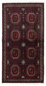 Belouch Alfombra 101X193 Oriental Hecha A Mano Rojo Oscuro (Lana, Persia/Irán)