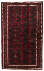 Baluch Rug 125X204 Authentic  Oriental Handknotted Dark Brown/Dark Red (Wool, Persia/Iran)