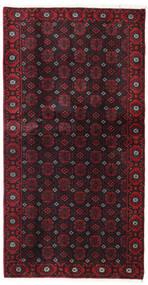 Beluch Matto 106X200 Itämainen Käsinsolmittu Tummanpunainen (Villa, Persia/Iran)