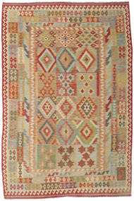 Kilim Afghan Old Style Tappeto 207X310 Orientale Tessuto A Mano (Lana, Afghanistan)
