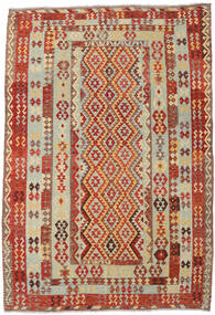 Kilim Afghan Old Style Tappeto 203X297 Orientale Tessuto A Mano (Lana, Afghanistan)