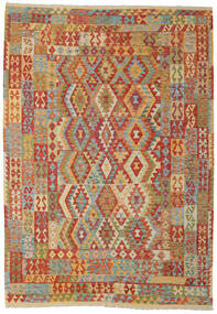 Kilim Afghan Old Style Tappeto 211X304 Orientale Tessuto A Mano (Lana, Afghanistan)