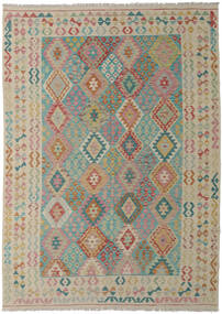 Kilim Afghan Old Style Tappeto 211X290 Orientale Tessuto A Mano (Lana, Afghanistan)
